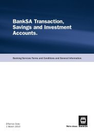 Savings and Investment Accounts