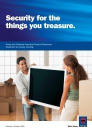 Security for the things you treasure