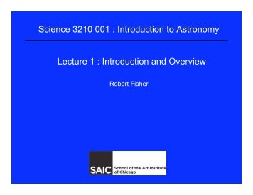 Lecture 1  Introduction and Overview