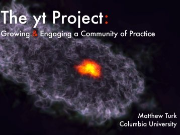 The yt Project
