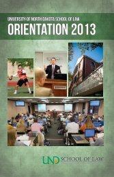Orientation 2013