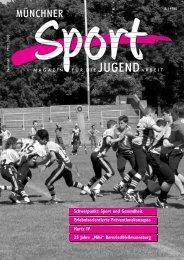 Sport in den Sommerferien – Vereine gesucht! - Münchner ...