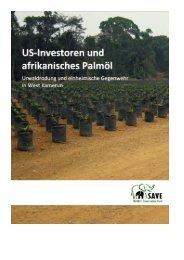 Deutsche Version - SAVE Wildlife Conservation Fund