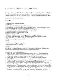 1 Referat af rådsmøde 14/2000 den 19. december kl ... - Naturrådet