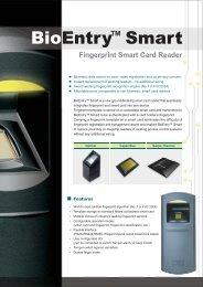 BioEntry Smart