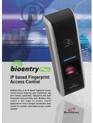 IP based Fingerprint Access Control