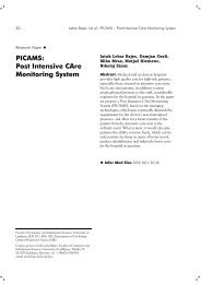 PICAMS Post Intensive CAre Monitoring System