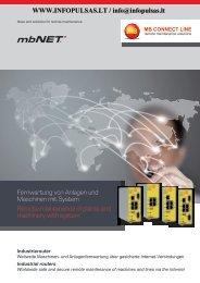 Fernwartung von Anlagen und Maschinen mit System Remote ...