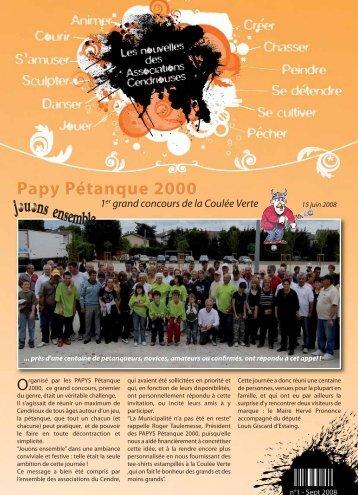 Papy Pétanque 2000