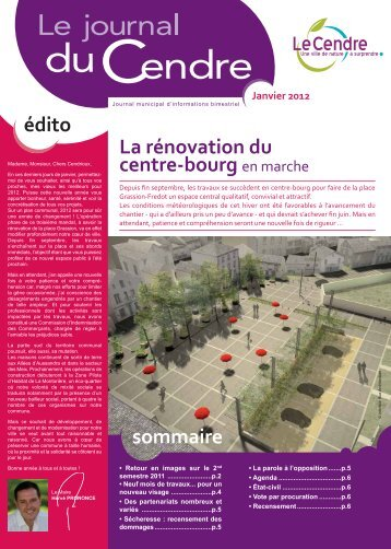 La rénovation du centre-bourg Architecture