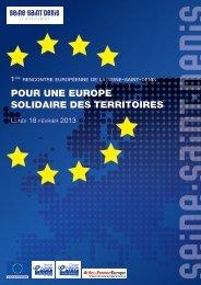 Pour une europe solidaire des territoires