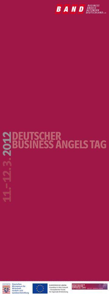 deutscher business angels tag o - Business Angels Netzwerk ...