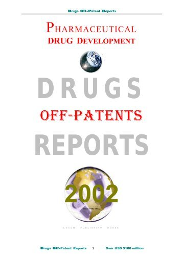 DRUGS REPORTS