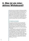 IWB Unterrichten mit interaktiven Whiteboards - Guides DE - Educa - Seite 6