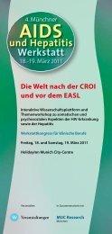 und Hepatitis Werkstatt - Kompetenznetz HIV/AIDS