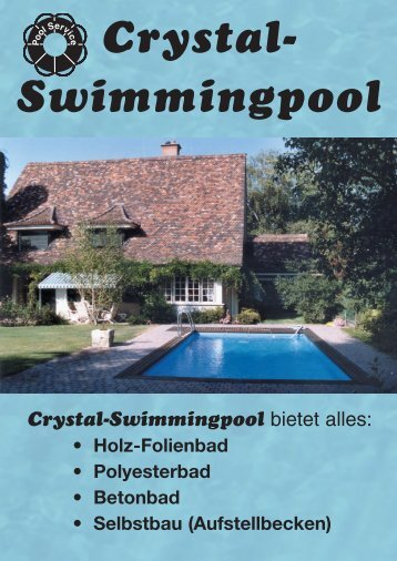Crystal- Swimmingpool
