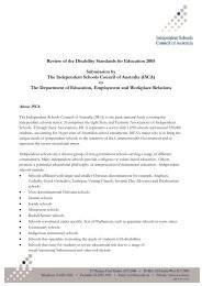 Review of Disability Standards for Education 2005 - Independent ...