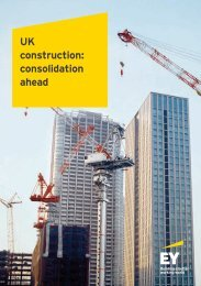 construction consolidation ahead