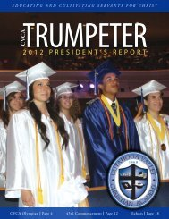 Summer 2012 - Cuyahoga Valley Christian Academy