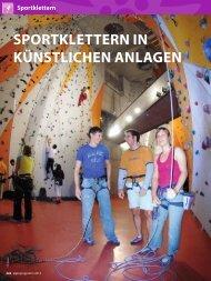 Klettertechnik - München und Oberland