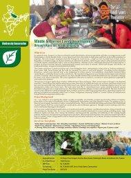 Waste & Barren Land Development