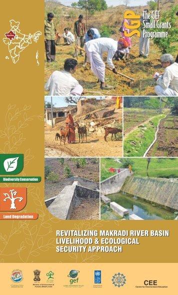 REVITALIZING MAKRADI RIVER BASIN LIVELIHOOD & ECOLOGICAL SECURITY APPROACH