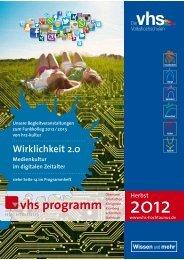 Download (10,9MB) - Volkshochschule Hochtaunuskreis