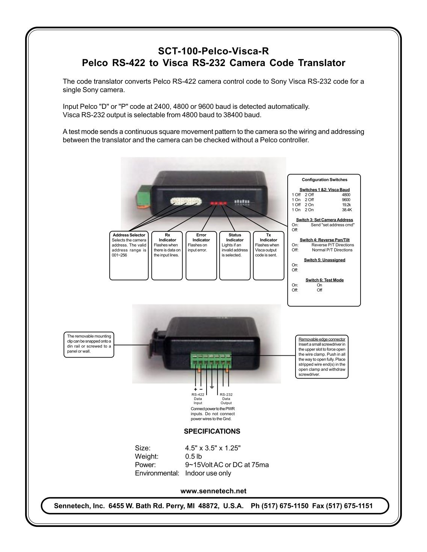 pelco ptz camera installation manual