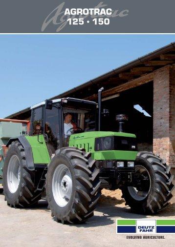 AGROTRAC 125 150