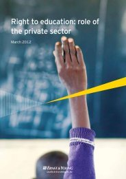 Right to education role of the private sector