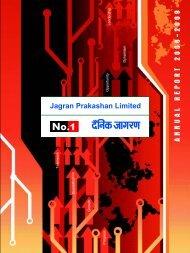 final annual report cover_CW.cdr - Jagran Prakashan Ltd