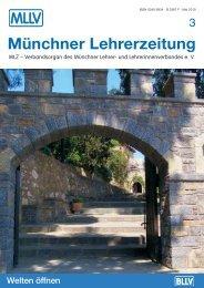 MLZ-Ausgabe Nr. 3 - 2010 - MLLV - Bayerischer Lehrer