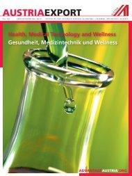 Gesundheit, Medizintechnik und Wellness, Austria Export Nr 141