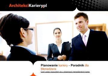 Planowanie kariery - Poradnik dla Menedżera - mariteam.com.pl