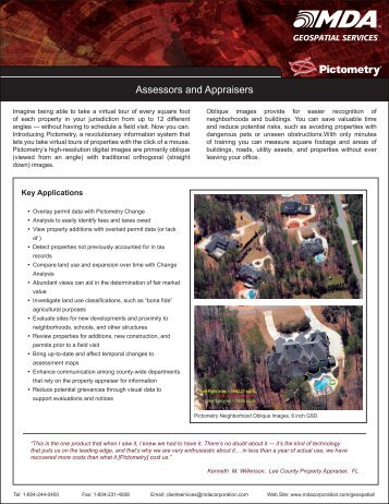 Assessors and Appraisers