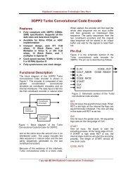 3GPP2 Turbo Convolutional Code Encoder