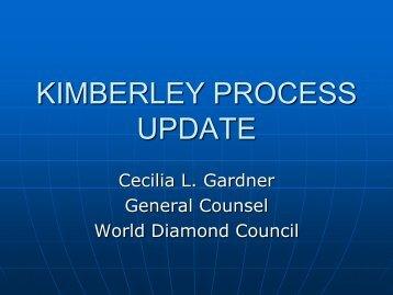 KIMBERLEY PROCESS UPDATE