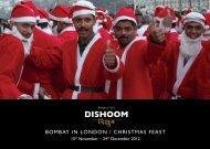 BOMBAY IN LONDON / CHRISTMAS FEAST