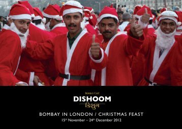 BOMBAY IN LONDON / CHRISTMAS FEAST