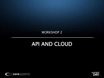 API and cloud