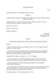 o izmjenama i dopunama zakona o hrvatskoj radioteleviziji - HRT
