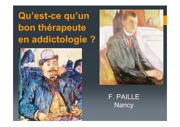 Qu'est-ce qu'un bon thérapeute en addictologie ?