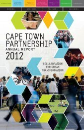 2012 annual report - Cape Town Partnership