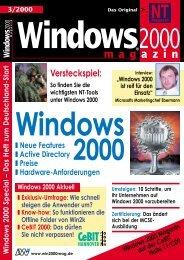Ausgaben von 1999 auf CD - ITwelzel.biz