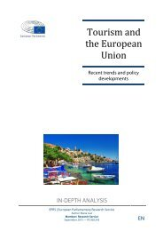 Tourism and the European Union