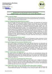 produktspezifische Öko-Kennzeichnungen