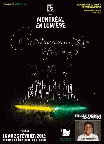 16 au 26 février 2012