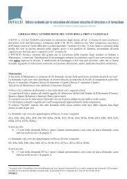 Griglie di correzione prova Nazionale INVALSI - a.s. 2012/2013