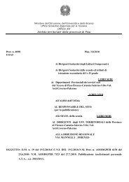 1 Ufficio XV Ambito territoriale della provincia di Pisa Prot. n ... - Indire