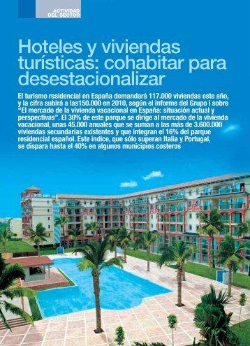 Hoteles y viviendas turísticas cohabitar para desestacionalizar